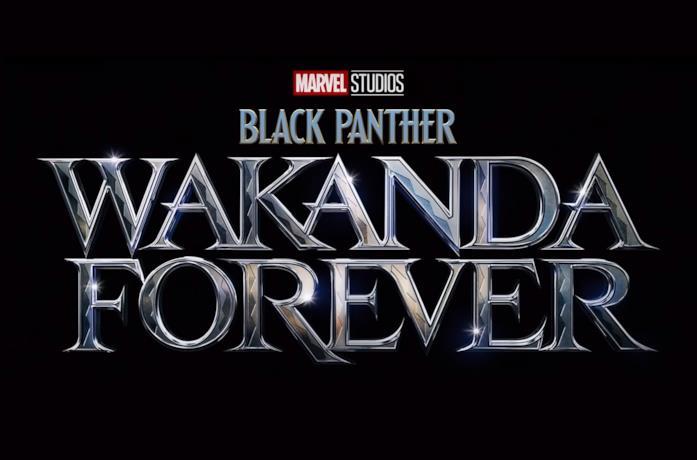 Il logo ufficiale di Black Panther: Wakanda Forever