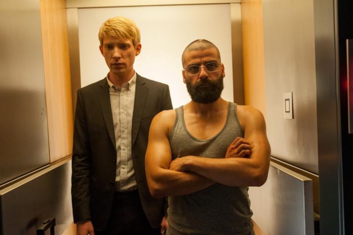 Caleb e Nathan in ascensore