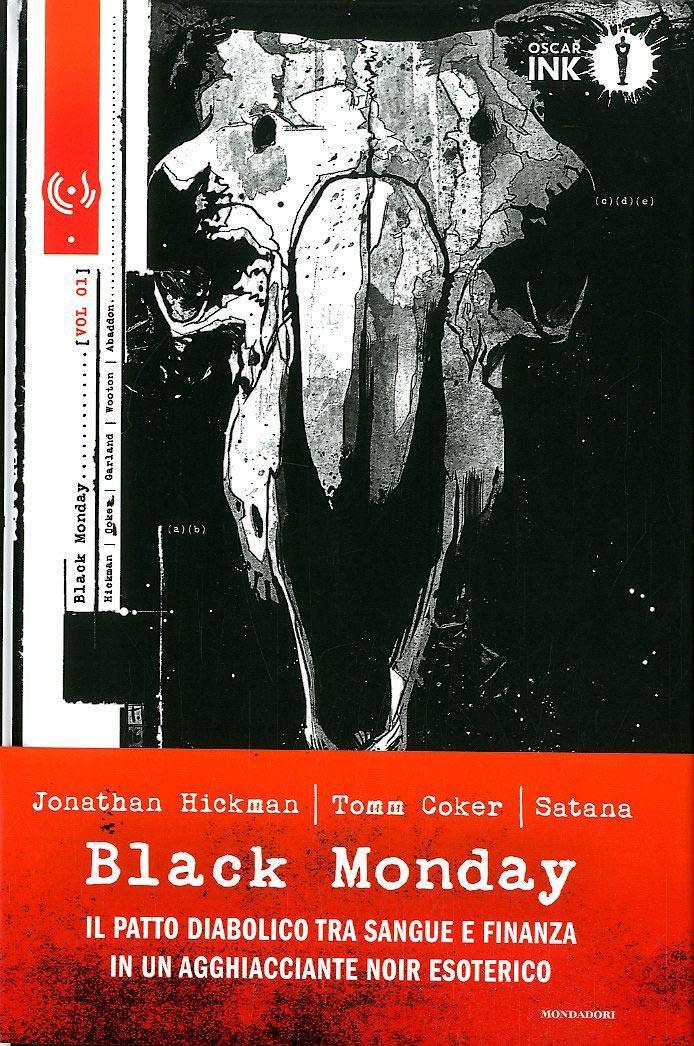 Copertina del primo volume di Black Monday