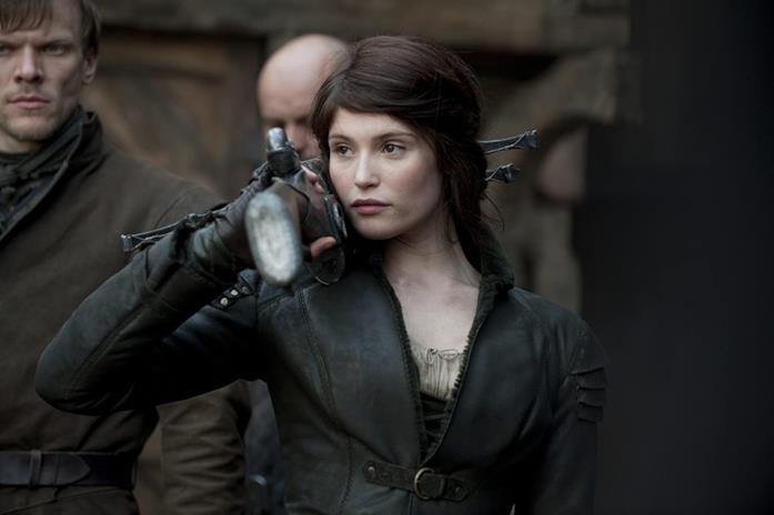 Gemma Arterton nel film Hansel & Gretel - Cacciatori di streghe