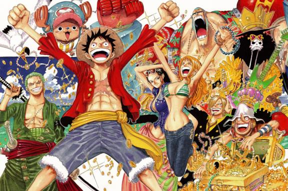 One Piece, la ciurma di Rufy