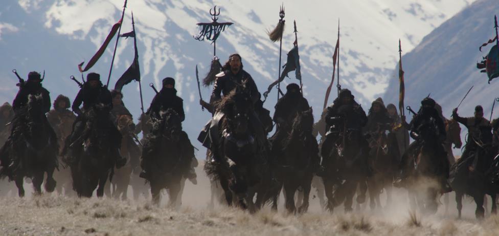I nemici della Cina ed il loro comandante Böri Khan