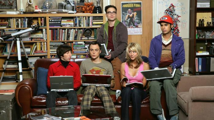 The Big Bang Theory simile a Friends