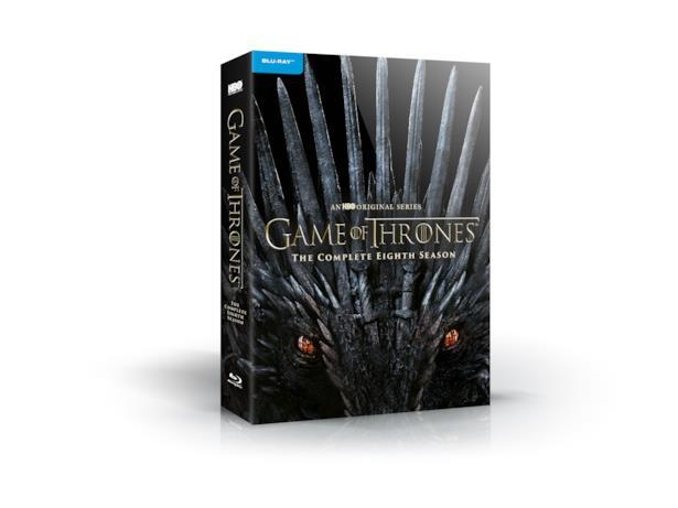 La copertina del cofanetto di Game of Thrones 8 in Blu-Ray
