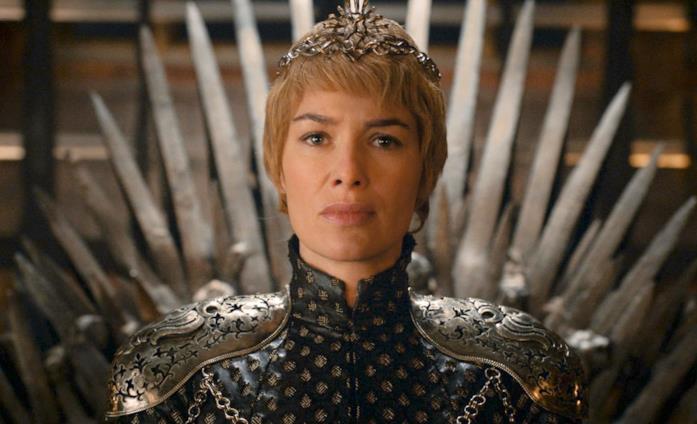 Lena Headey in Game of Thrones nei panni di Cersei Lannister