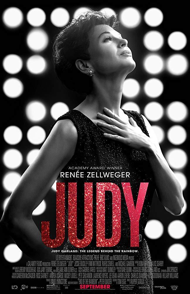 Renée Zellweger nel poster del film Judy