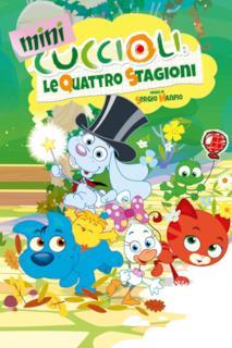 Poster Mini cuccioli - Le quattro stagioni