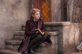 Sophie Nélisse è la protagonista di Storia di una ladra di libri