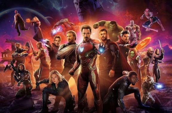 Gli eroi del Marvel Cinematic Universe in un'immagine promozionale