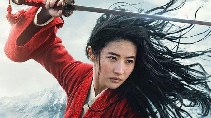 Un'immagine di Mulan nel nuovo film