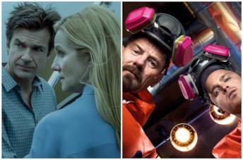 Il cast di Ozark e il cast di Breaking Bad