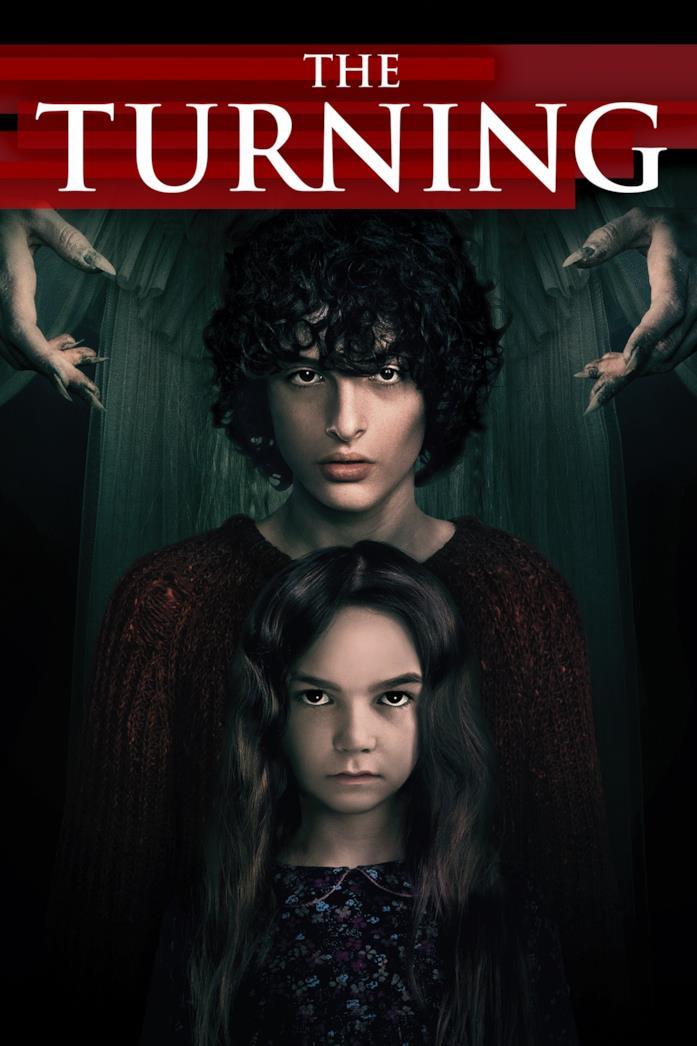 Il cast di The Turning nella locandina del film