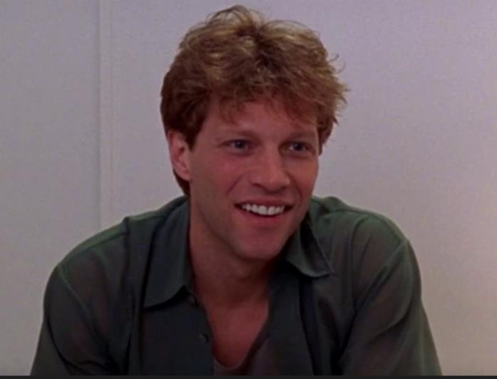 Jon Bon Jovi in primo piano
