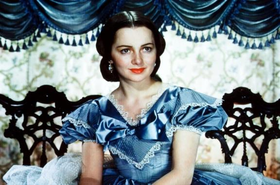 Olivia de Havilland in Via col Vento