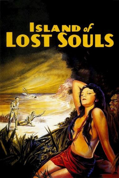 Poster L'isola delle anime perdute
