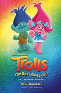 Poster Trolls - La festa continua!