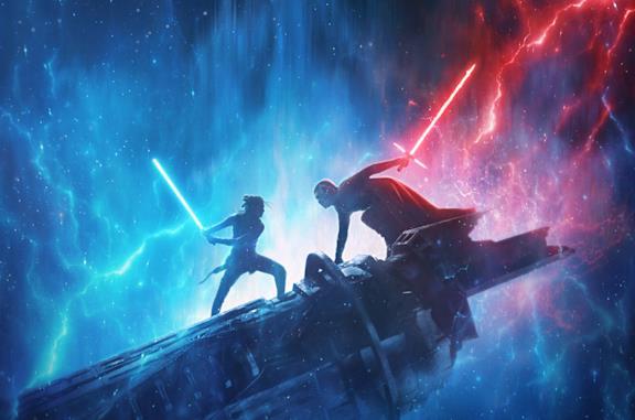 Poster de L'ascesa di Skywalker