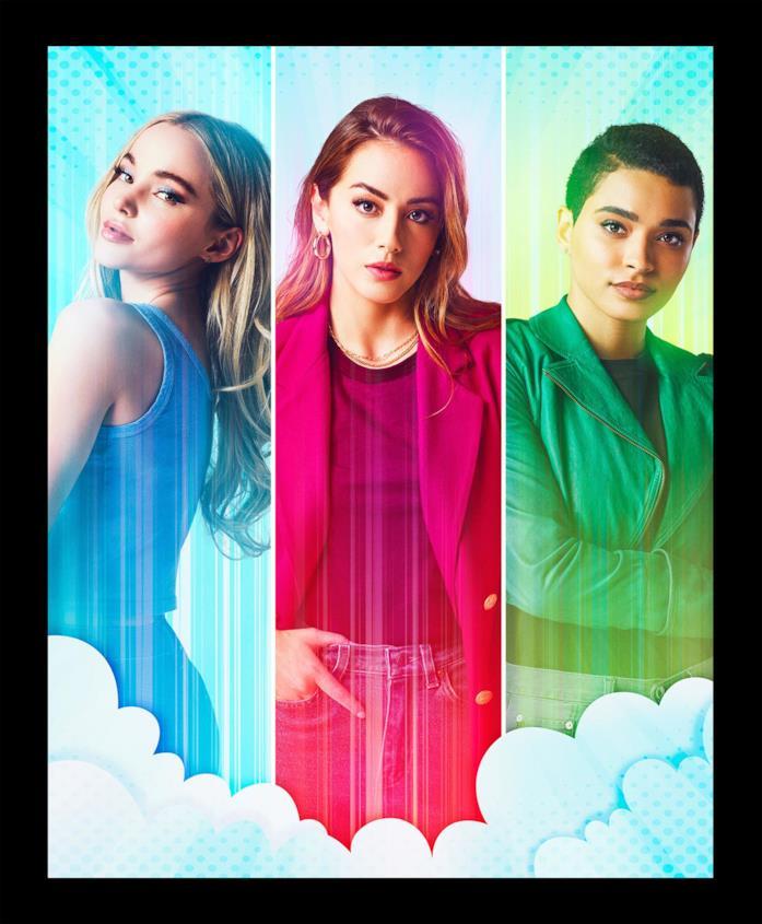 Chloe Bennet, Dove Cameron e Yana Perrault nella prima foto promozionale di Powerpuff