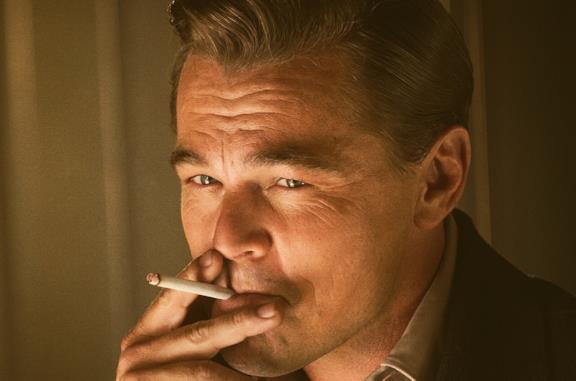 Leonardo DiCaprio in una scena del film C'era una volta a Hollywood