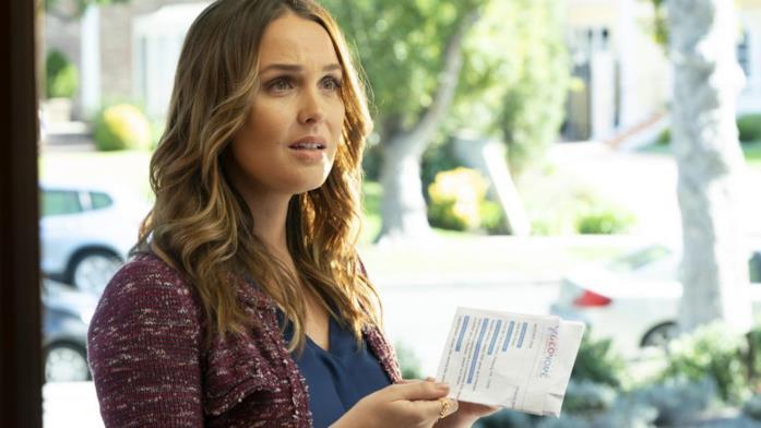 Jo Wilson in una scena di Grey's Anatomy