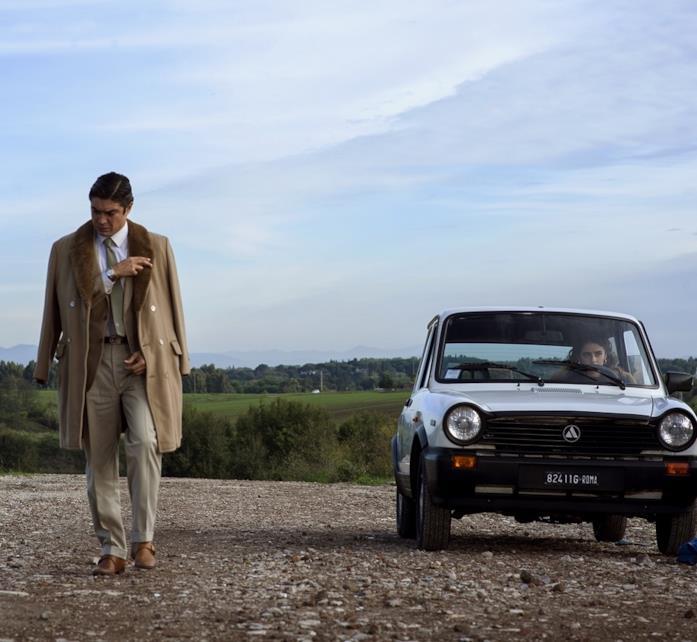 Scamarcio in una scena del film di Faenza