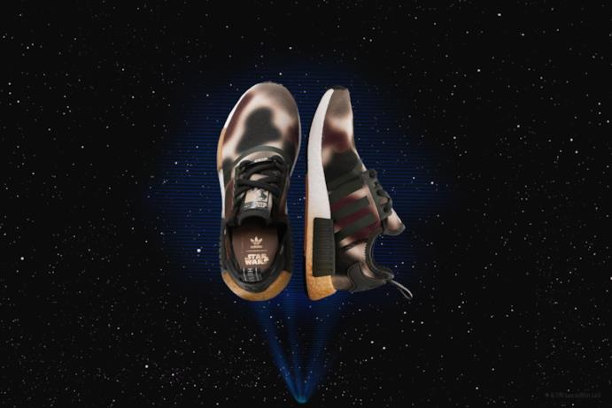 Questa sneaker presenta il logo con la Principessa Leila sulla linguetta