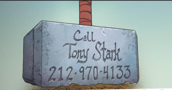 Thor scherzo Tony Stark