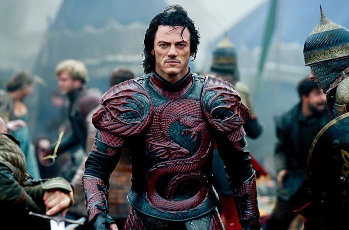 Luke Evans nel ruolo di Vlad III in Dracula Untold