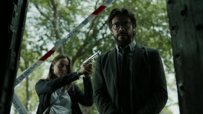 Sergio e Raquel ne La Casa di Carta