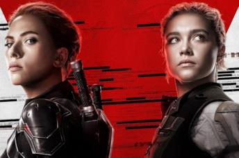 Un'immagine del poster di Black Widow