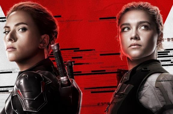 Un'immagine del poster di Black Widow