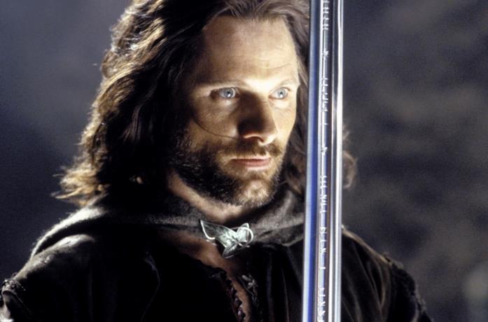 Viggo Mortensen è Aragorn ne Il Signore degli Anelli - Il ritorno del re