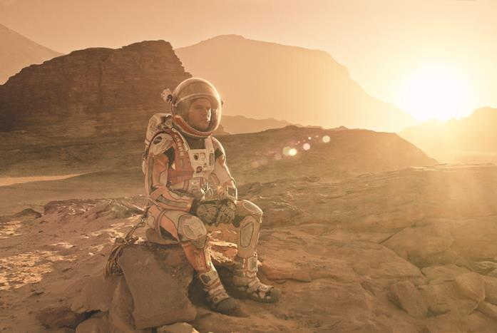 The Martian: Matt Damon è Mark Watney
