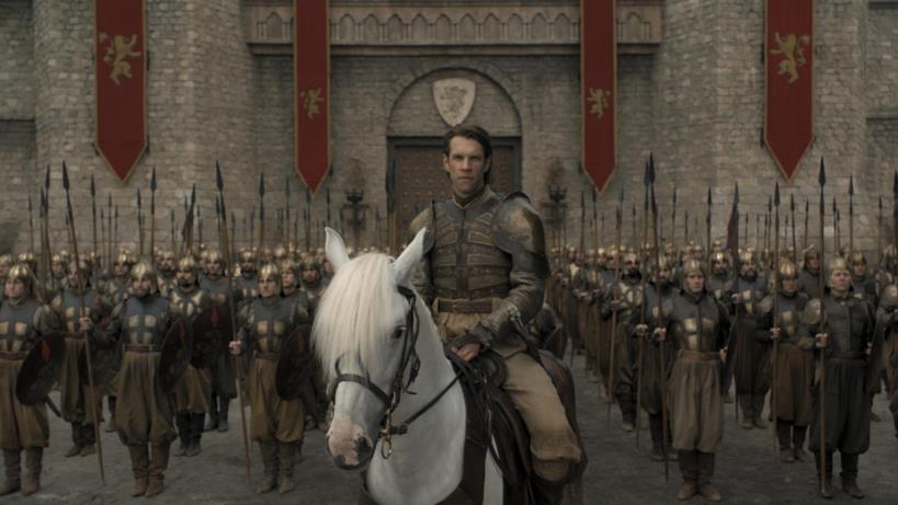 Game of Thrones 8x05: Harry Strickland con la Compagnia Dorata