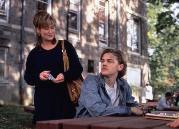 Meryl Streep e Leonardo DiCaprio in una scena de La stanza di Marvin