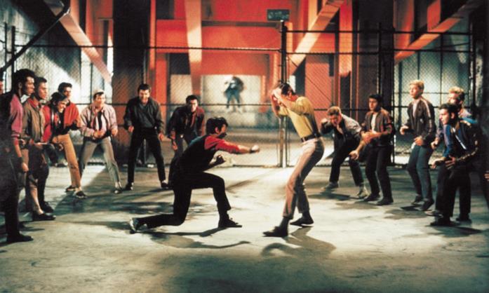 Una scena dal film West Side Story (1961)