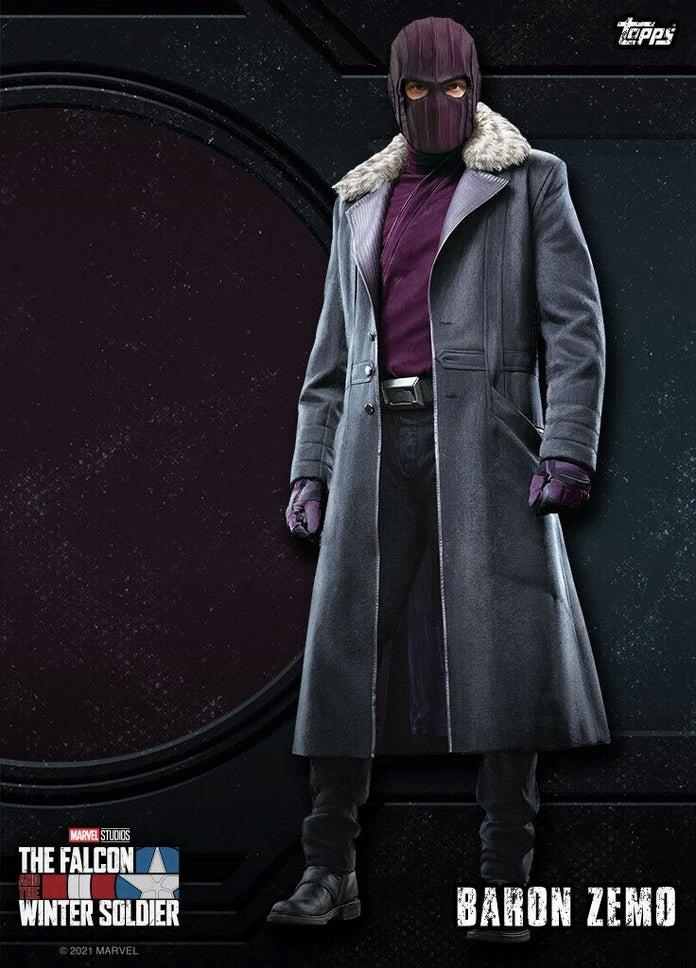 Baron Zemo in The Falcon and the Winter Soldier