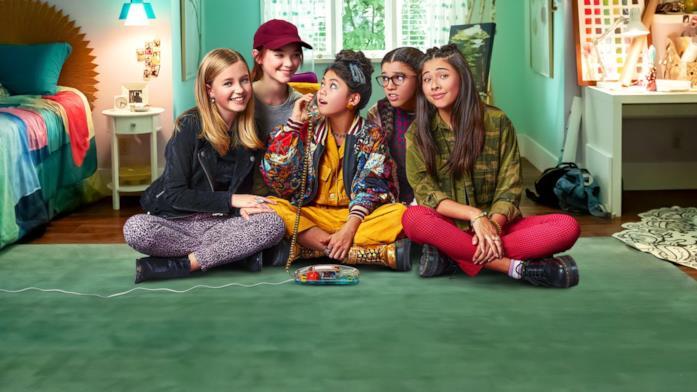 Le protagoniste della serie Netflix Il club delle baby-sitter