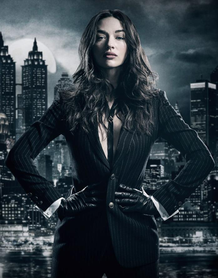 Crystal Reed è Sofia Falcone nel poster di Gotham