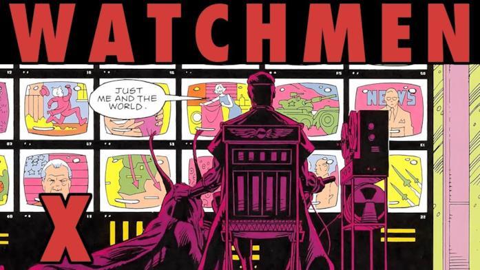 Watching The Watchmen episode 10 graphic novel