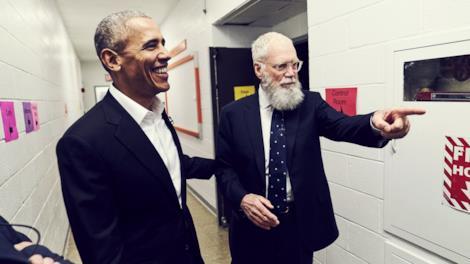 Non c'è bisogno di presentazioni con David Letterman