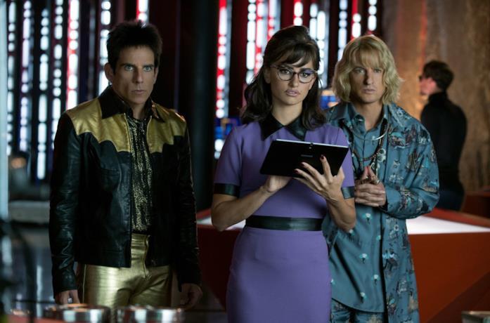 Ben Stiller, Owen Wilson e Penélope Cruz in Zoolander 2