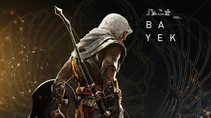 Assassin's Creed Origins introduce l'Assassino Bayek