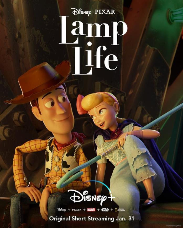 La locandina del nuovo cortometraggio Pixar