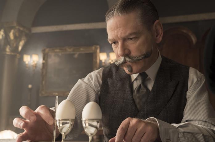 Kenneth Branagh è Hercule Poirot in Assassinio sul Nilo