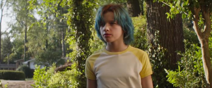 La giovane Natasha Romanoff