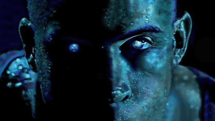 Una sequenza tratta da Pitch Black, primo film con Riddick
