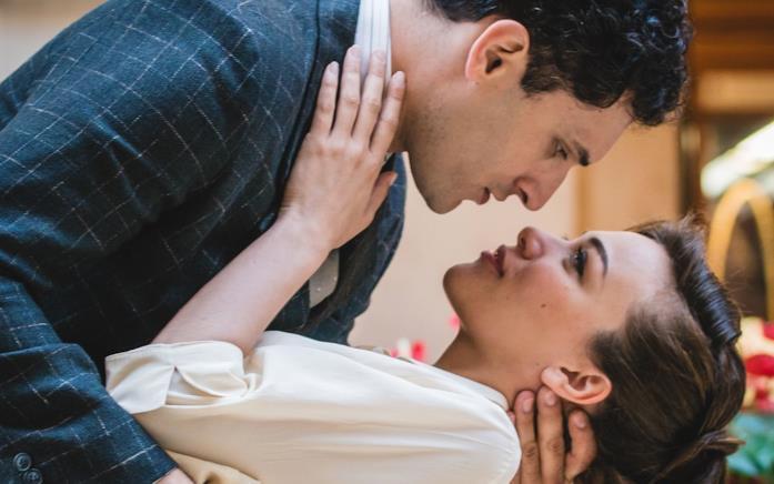 Primo bacio Vittorio e Marta