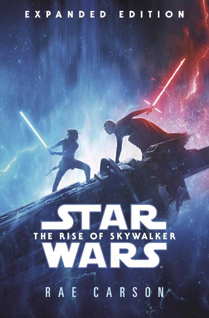 La copertina del romanzo di Star Wars 9