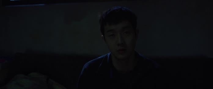 La scena finale di Parasite con Ki-woo